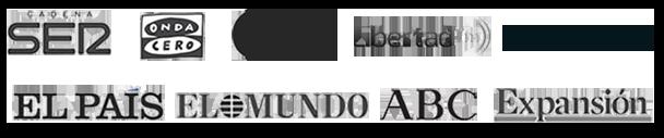 Logos prensa Héctor Robles